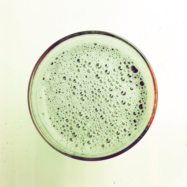 Banana/Spirulina smoothie – created on the CHEF CHEF app for iOS