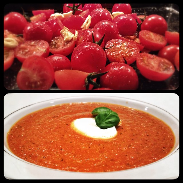 TOMATSUPPE –created on the CHEF CHEF app for iOS