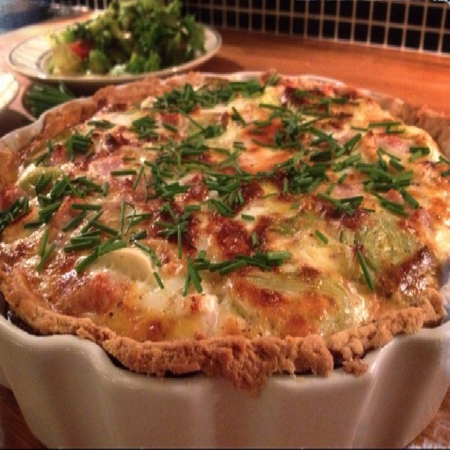Quiche Lorraine m/ porre – created on the CHEF CHEF app for iOS