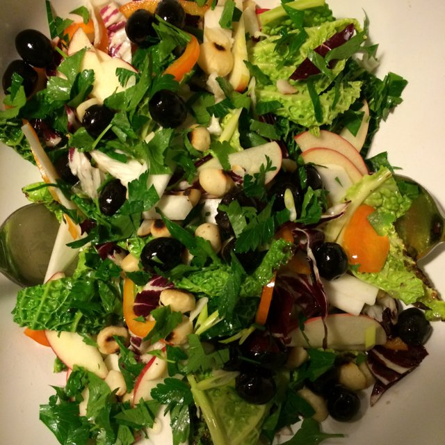 Savojkål-salat –created on the CHEF CHEF app for iOS