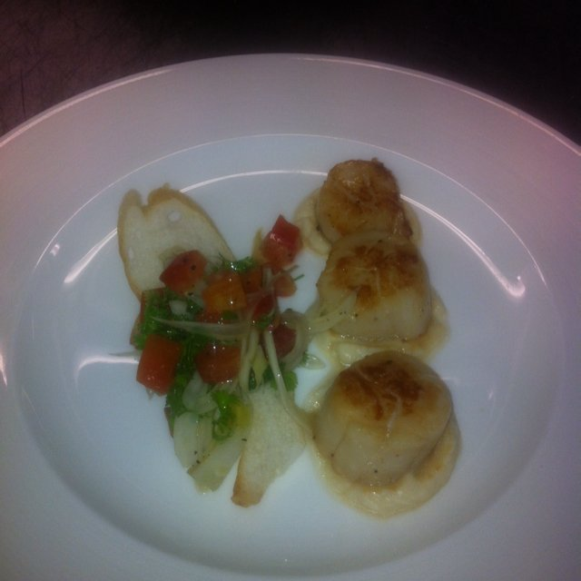 Pan-seared scallop   –created on the CHEF CHEF app for iOS
