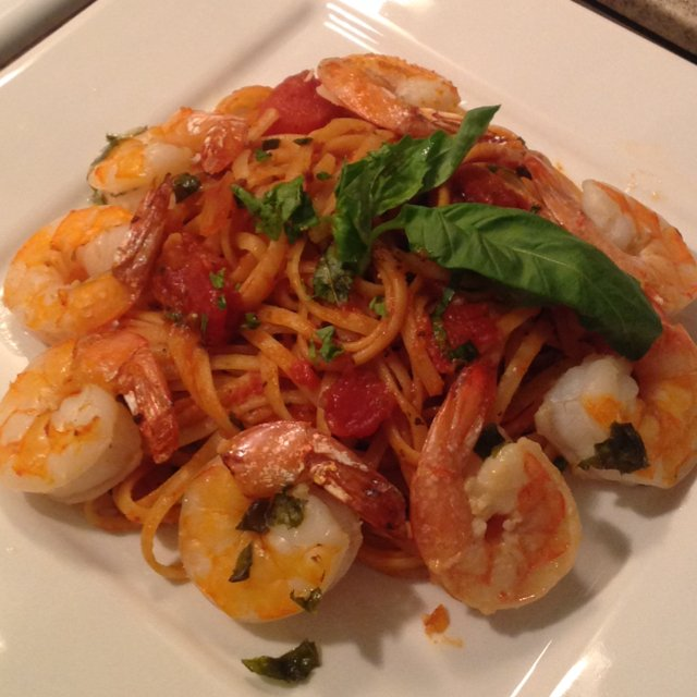 Shrimp Fra Diavolo – created on the CHEF CHEF app for iOS