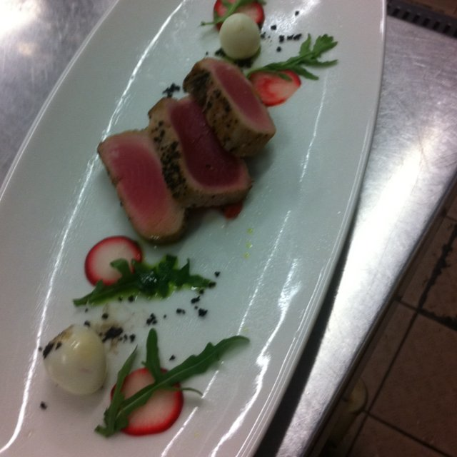 Seared tuna  – created on the CHEF CHEF app for iOS