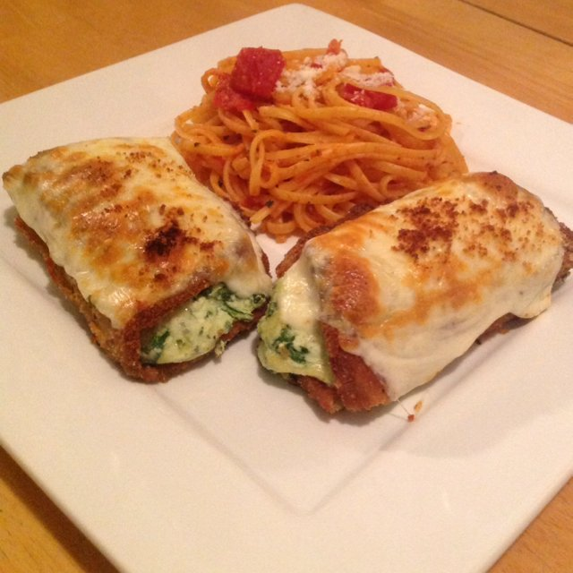 Eggplant Rollatini – created on the CHEF CHEF app for iOS
