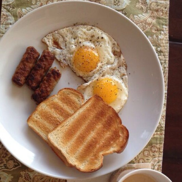 Breakfast –created on the CHEF CHEF app for iOS