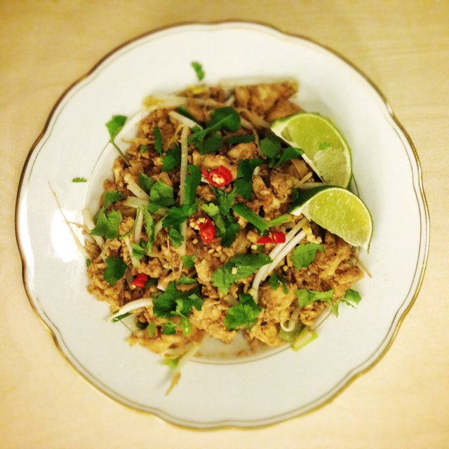 Pad Thai – created on the CHEF CHEF app for iOS