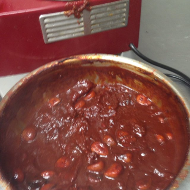 Smoked tomato jam –created on the CHEF CHEF app for iOS
