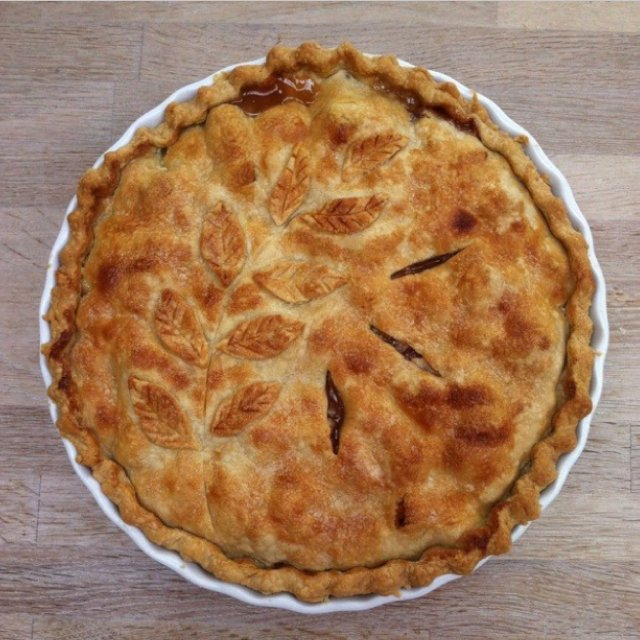 Amerikansk Apple Pie – created on the CHEF CHEF app for iOS