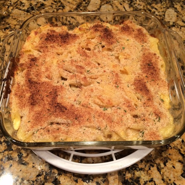 Hungry Man's Baked Macaroni – created on the CHEF CHEF app for iOS