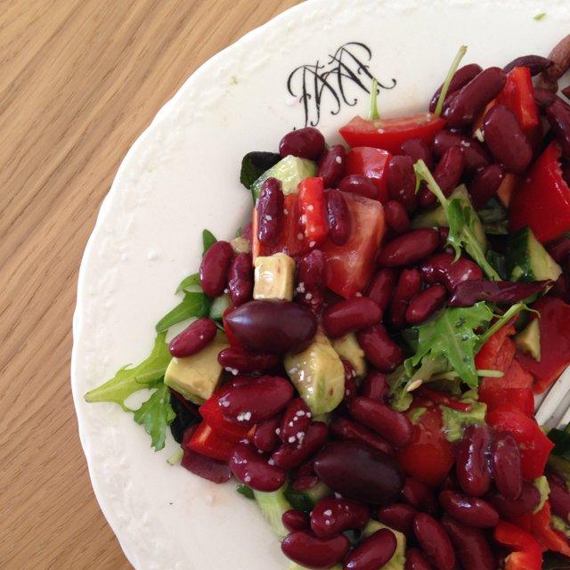 Den hurtige og nemme salat –created on the CHEF CHEF app for iOS