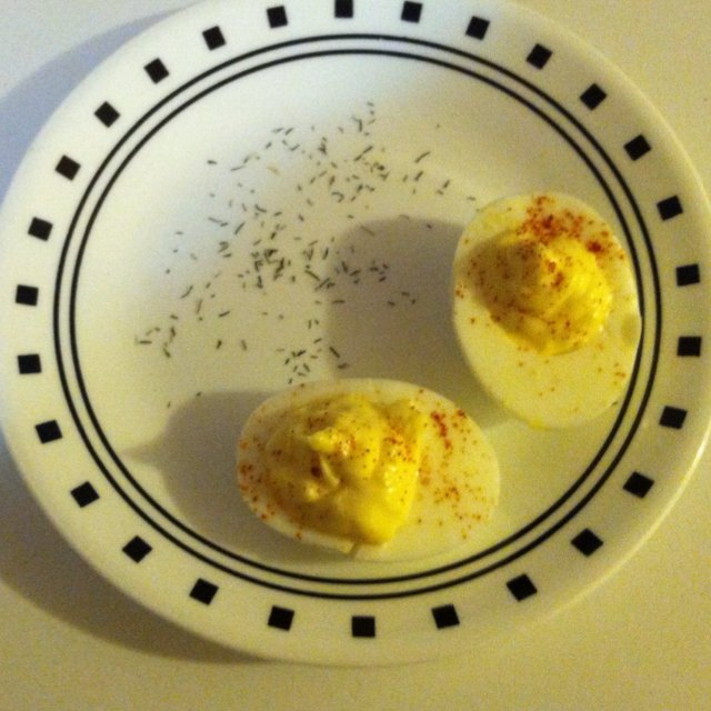 Deviled eggs – created on the CHEF CHEF app for iOS