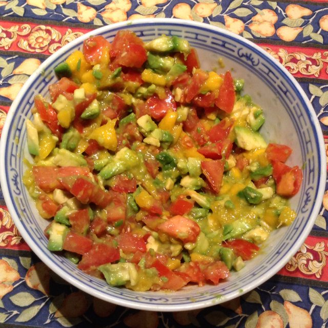 Guacamole –created on the CHEF CHEF app for iOS