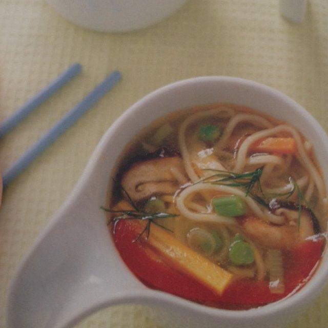 Nudelsuppe med kylling. –created on the CHEF CHEF app for iOS