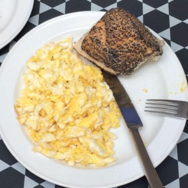 Scramble egg – created on the CHEF CHEF app for iOS