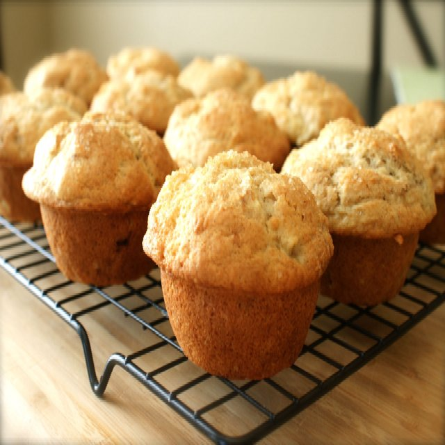 banana muffins –created on the CHEF CHEF app for iOS