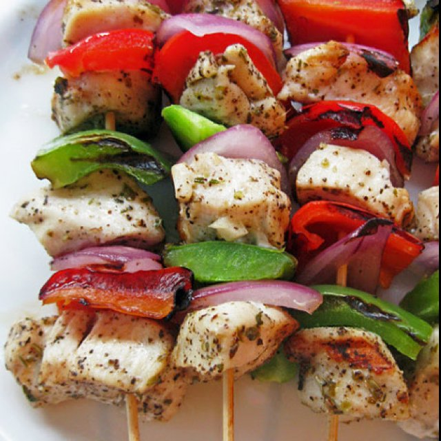 Greek Marinated Skewers