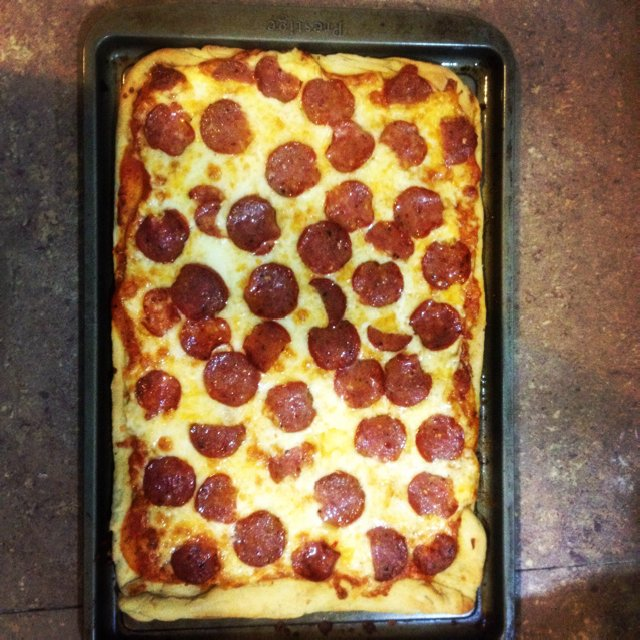 Pizza dough –created on the CHEF CHEF app for iOS