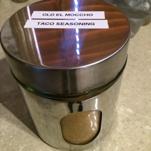 Old El Moccho Taco Seasoning – created on the CHEF CHEF app for iOS