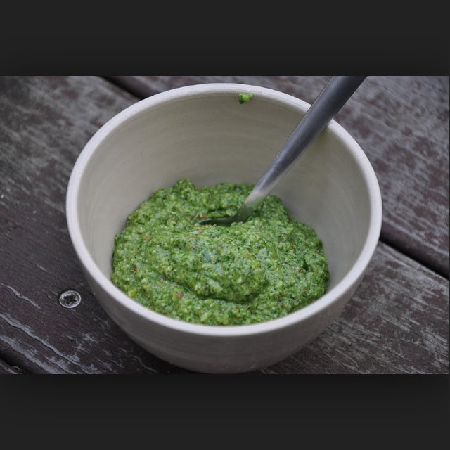 Pesto – created on the CHEF CHEF app for iOS