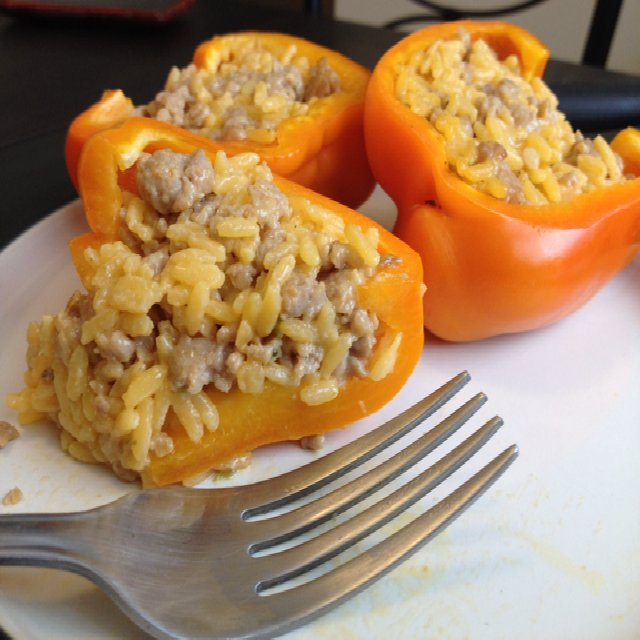 BCIS stuffed pepper halves