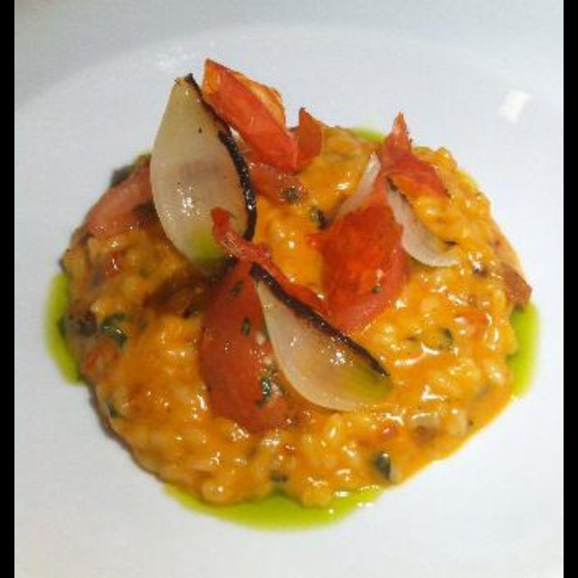 Sundried tomato risotto –created on the CHEF CHEF app for iOS