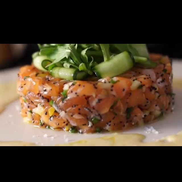 Salmon tartare – created on the CHEF CHEF app for iOS