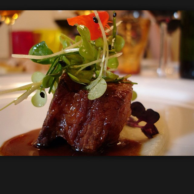 Pork belly and apples – created on the CHEF CHEF app for iOS