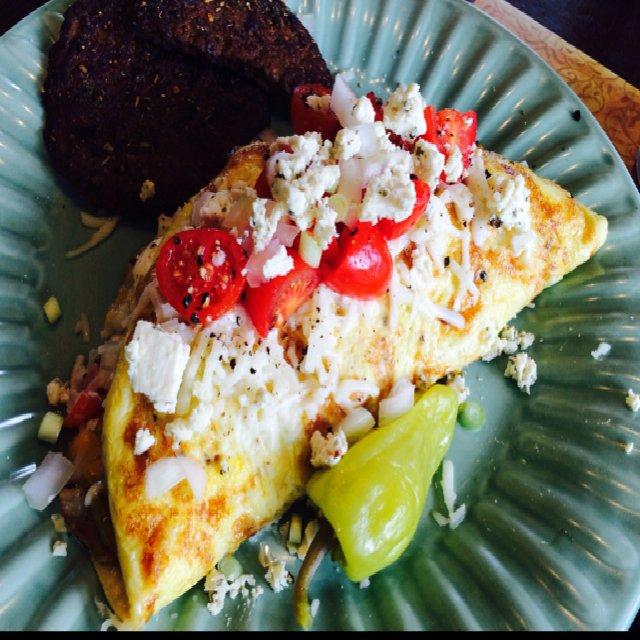 Italian Omelet  –created on the CHEF CHEF app for iOS