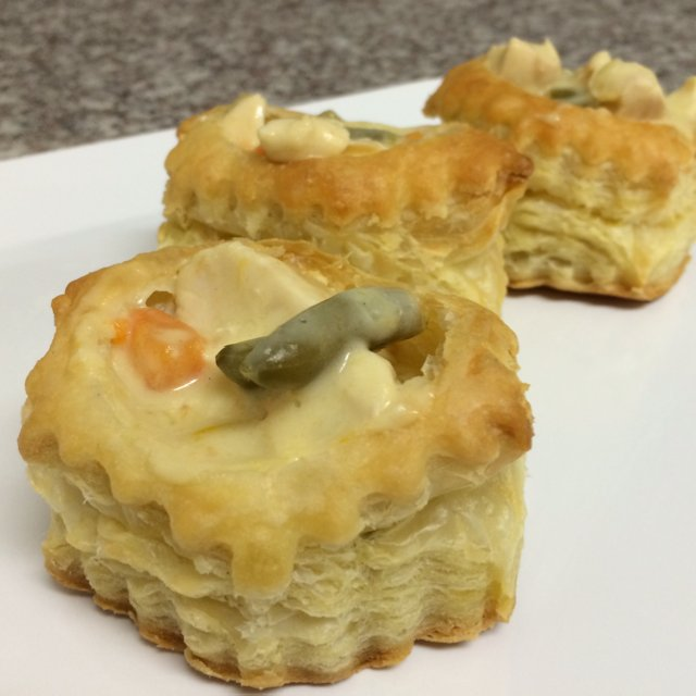 Chicken Pot Pastries