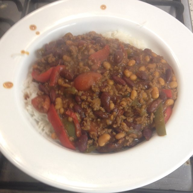 Sam's Chilli Con Carne – created on the CHEF CHEF app for iOS