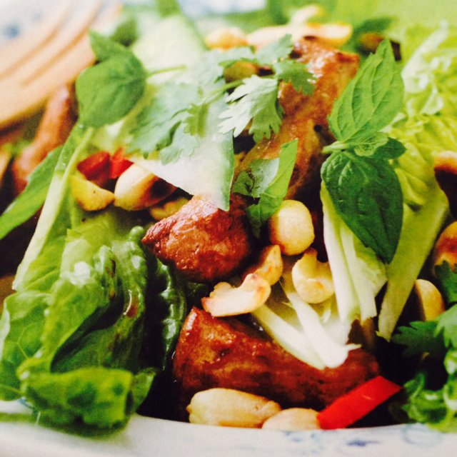 Spicy salat m mørbrad –created on the CHEF CHEF app for iOS