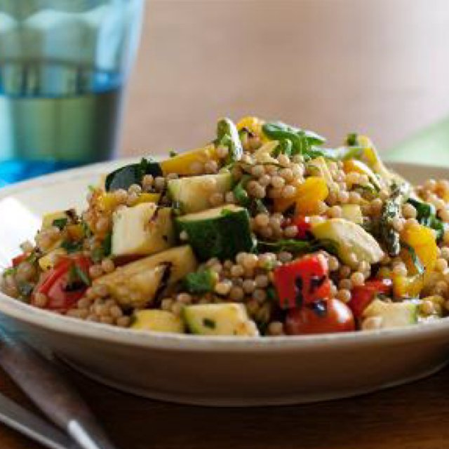 Toasted Israeli Cous Cous  –created on the CHEF CHEF app for iOS