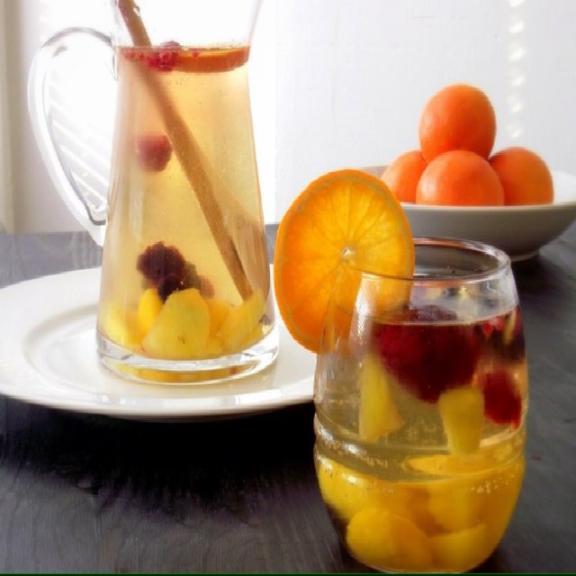 White wine sangria – created on the CHEF CHEF app for iOS