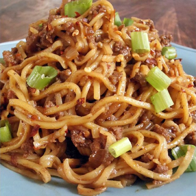 Szechuan Pepper Beef Noodles –created on the CHEF CHEF app for iOS