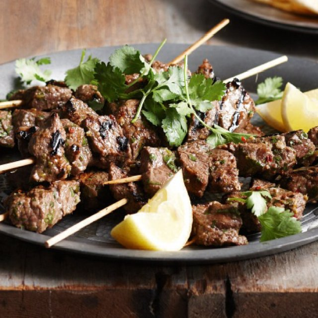 Moroccan Ground Beef Skewers –created on the CHEF CHEF app for iOS