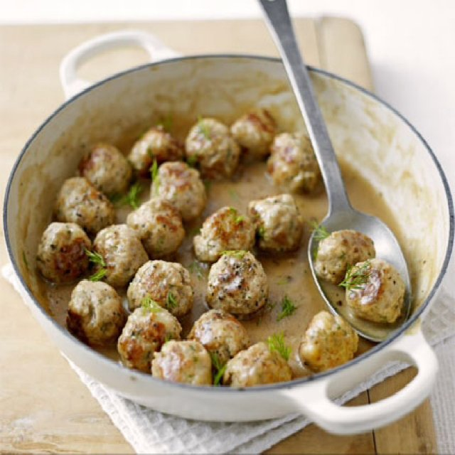 Swedish Meatballs –created on the CHEF CHEF app for iOS