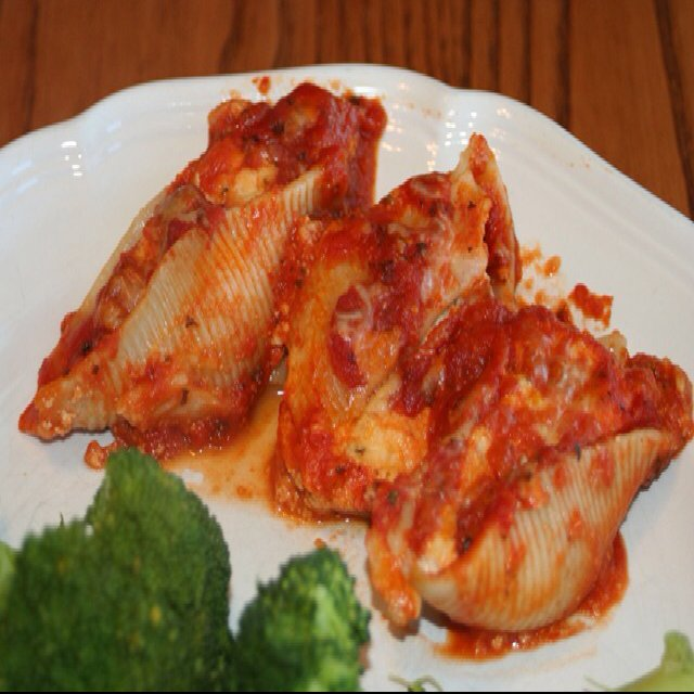 Stuffed shells – created on the CHEF CHEF app for iOS