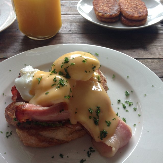 Eggs Benedict  – created on the CHEF CHEF app for iOS