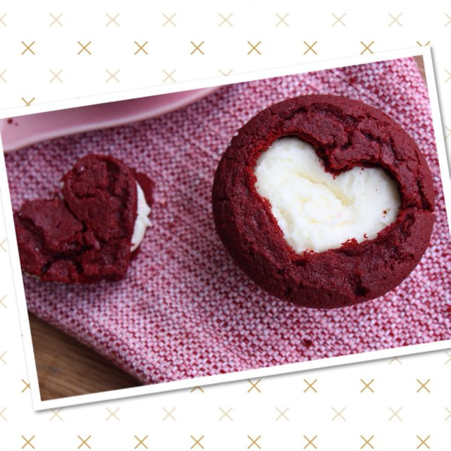 Red Velvet Cupcakes  –created on the CHEF CHEF app for iOS