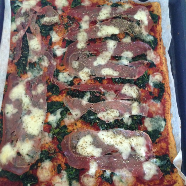 Protein-pizza  –created on the CHEF CHEF app for iOS