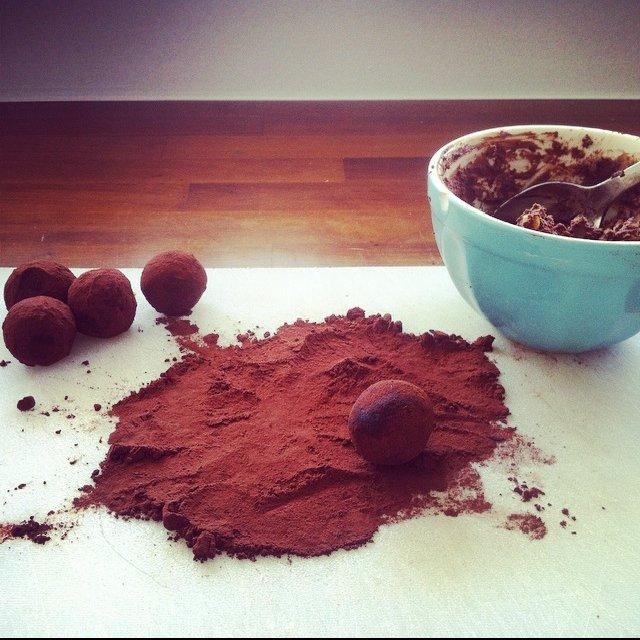 Chokoladetrøfler –created on the CHEF CHEF app for iOS