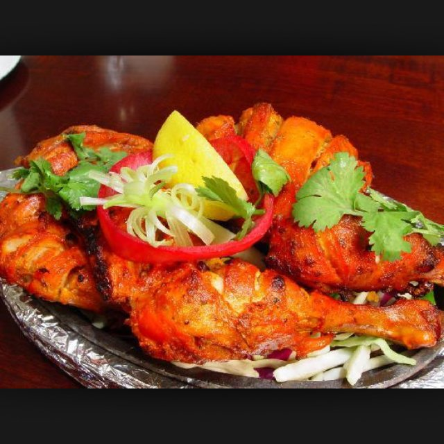 My tandoori chicken – created on the CHEF CHEF app for iOS