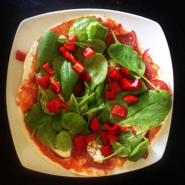 Nem og hurtig pizza –created on the CHEF CHEF app for iOS