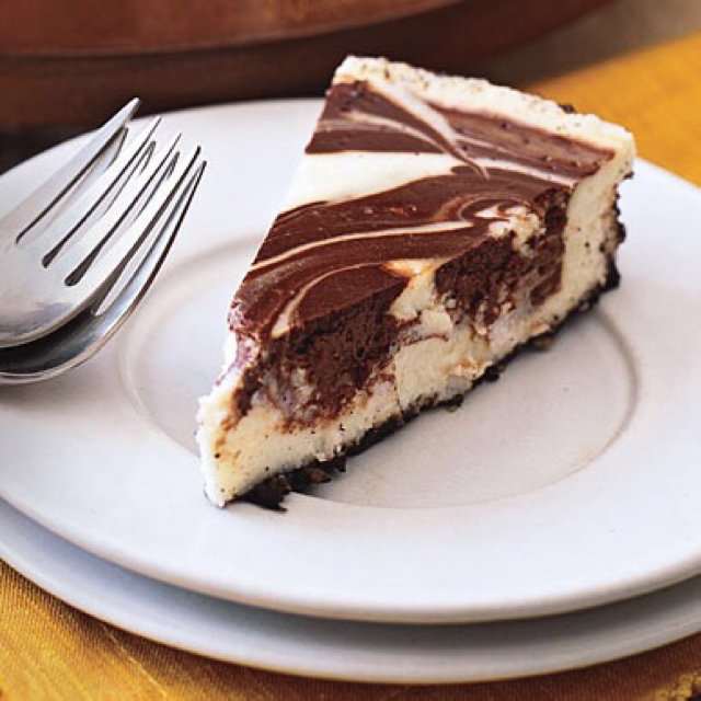 Marbled Cheesecake  –created on the CHEF CHEF app for iOS