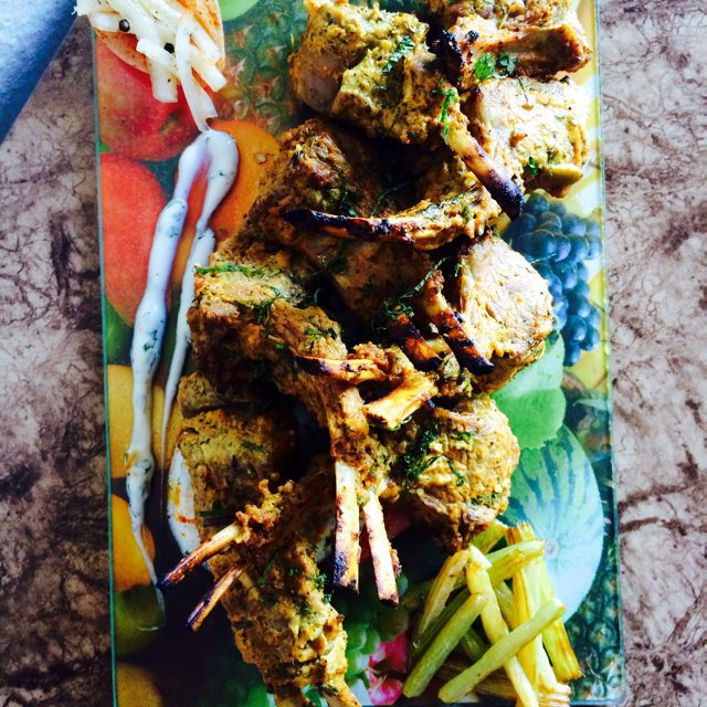 Tandoori Lambchops – created on the CHEF CHEF app for iOS