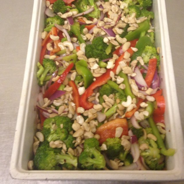 Spicy Broccoli Salad –created on the CHEF CHEF app for iOS