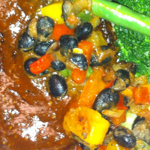 Black bean salsa – created on the CHEF CHEF app for iOS