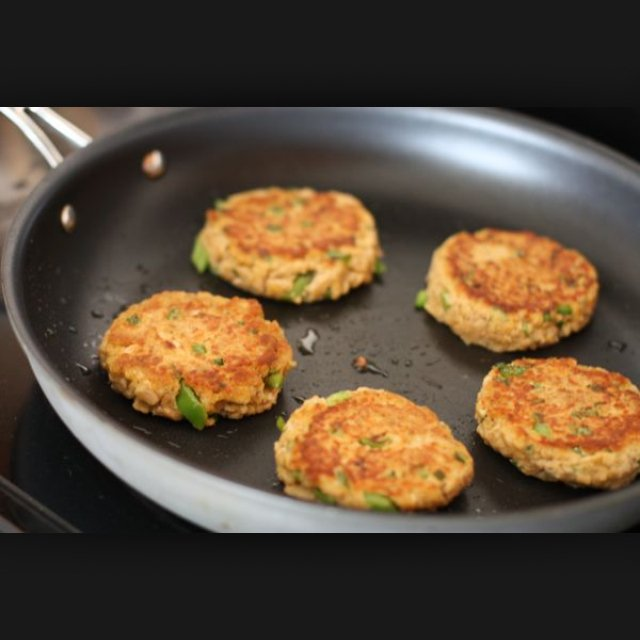 Fish burgers  – created on the CHEF CHEF app for iOS