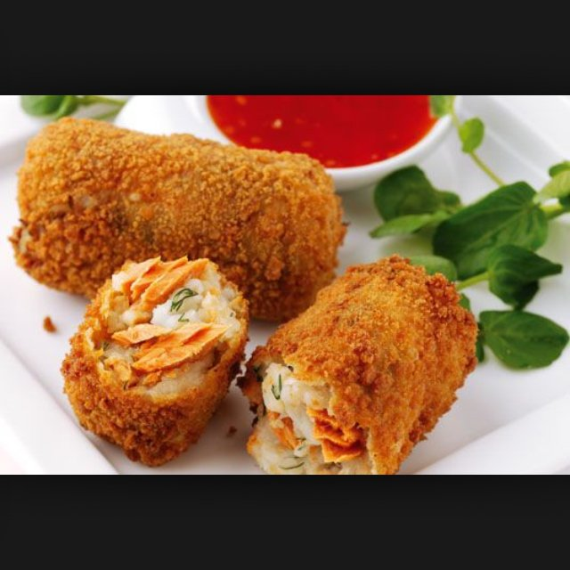 Fish croquette – created on the CHEF CHEF app for iOS