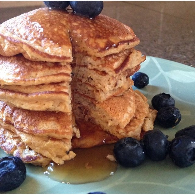 Banana pancakes  – created on the CHEF CHEF app for iOS